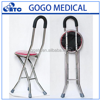 walking stick chair heavy duty big joe lumin 2017 greatness rest cane with portable seat for medical elderly wallking