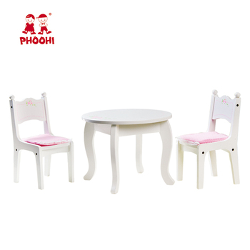 18 doll table and chairs swing chair egypt 2018 new pretend play game inch furniture wooden set