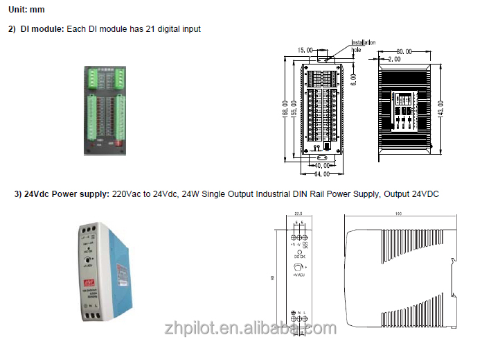 Pilot Pmac202 Rs485 Multi Channel Power Meter For Data