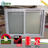 Modern House Design Pvc Horizontal Sliding Window