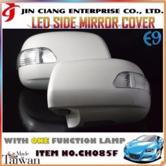Bodykit All New Kijang Innova Spesifikasi Vellfire Body Kit Product Led Door Mirror Cover For India Toyota