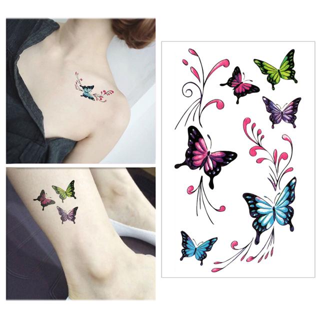Venta Al Por Mayor Tatuajes Pequeños Mujeres Compre Online Los