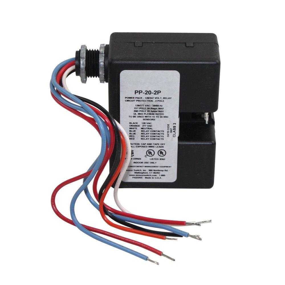 medium resolution of get quotations sensor switch power pack pp20 2p occupancy sensor 120 277 vac 20a power relay pack