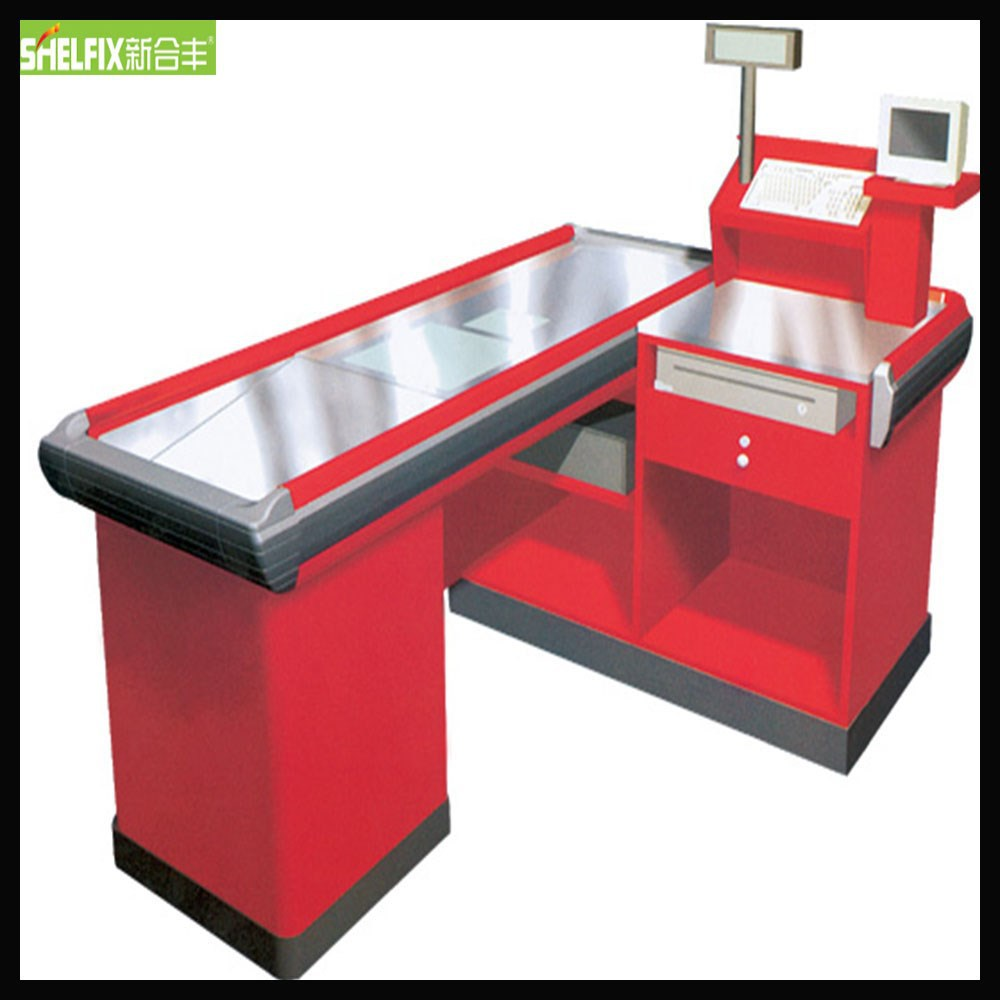 High Quality Cashier Counter Table supermarket Cashier