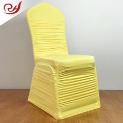 Yellow Chair Covers Big Lots Chairs And Recliners For Weddings Wholesale Cover Suppliers Alibaba