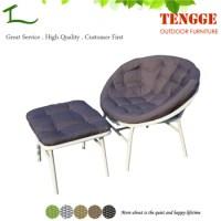 Handmade Rattan Wicker Round Papasan Chair With Cushion ...