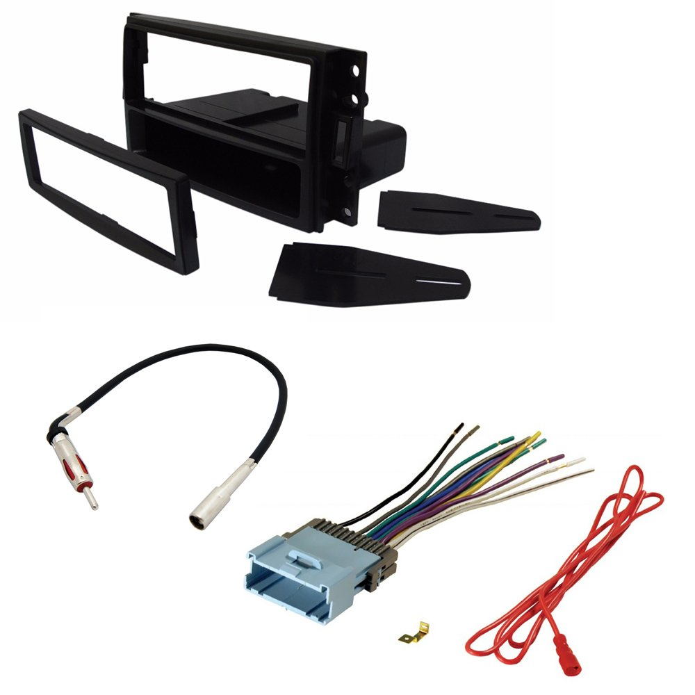 hight resolution of get quotations car stereo radio cd player receiver install mount kit harness radio antenna buick chevrolet hummer pontiac