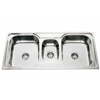 triple kitchen sink cheap hotels in negril with new stylish bowl stainless steel jt 10050 buy single product on alibaba com