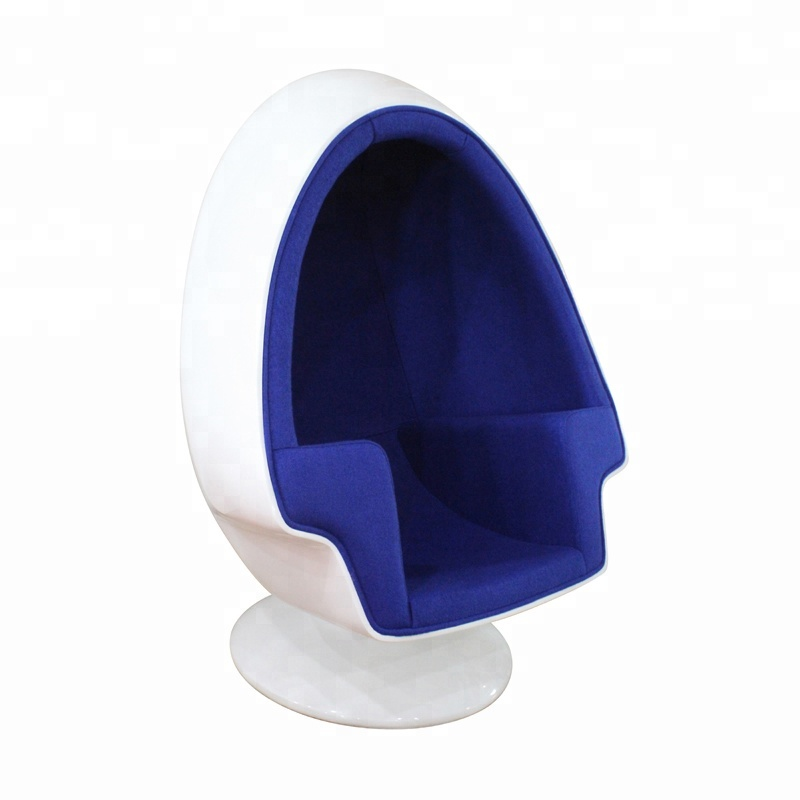 mid century egg chair swivel rocker patio parts pod lounge with speaker buy