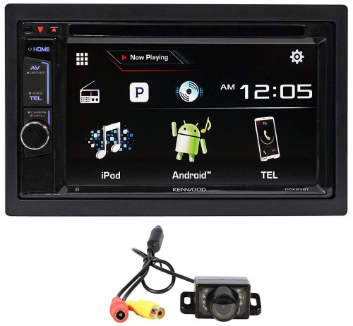 small resolution of kenwood ddx23bt 6 2 car dvd player receiver w bluetooth iphone pandora