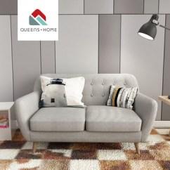 Cushion Sofa Set Sofas On Ebay Leather Queenshome House Fabric 2018 Modern Home The Room Bauhaus Furniture Grey Sillon