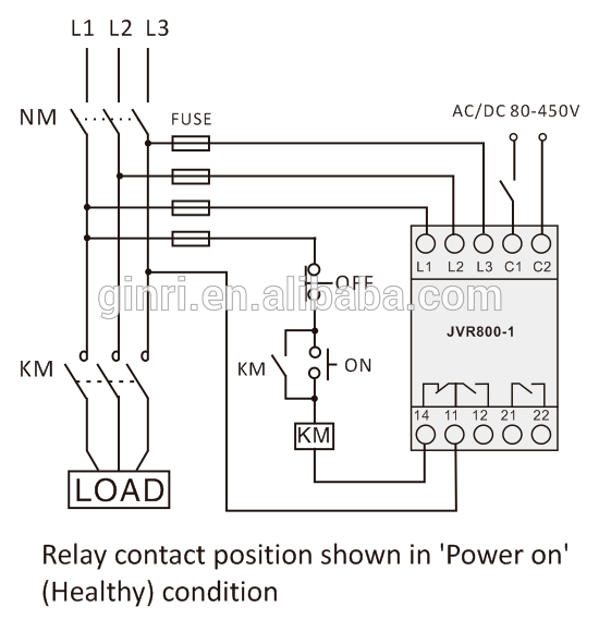 Phase Protection Relays Of Voltage Control Over&under