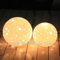 Ball Decorative Porcelain Night Lamp,Table Night Lamp ...