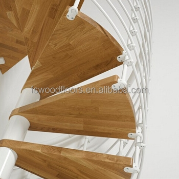 Prefinished Oak Wood Stair Treads For Spiral Stair Staircase Buy | Prefinished Wood Stair Treads | Hickory | Risers | Natural Red | Red Oak Stair | Stair Nosing