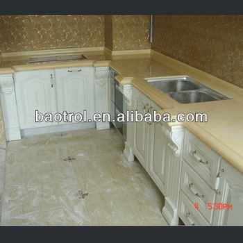 seamless kitchen flooring padded mats marble compound stone cost effective countertop for decoration materials