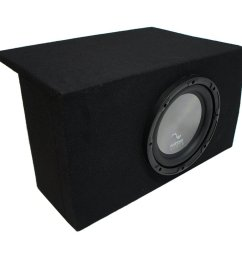 get quotations 2005 2014 ford mustang coupe harmony audio a102 single 10 sub box enclosure new [ 1000 x 1000 Pixel ]