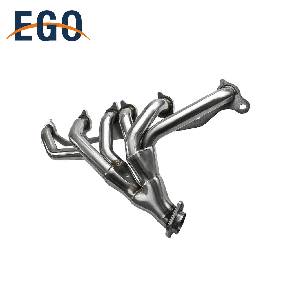 medium resolution of stainless steel performance exhaust header manifold for jeep wrangler 91 99 4 0l
