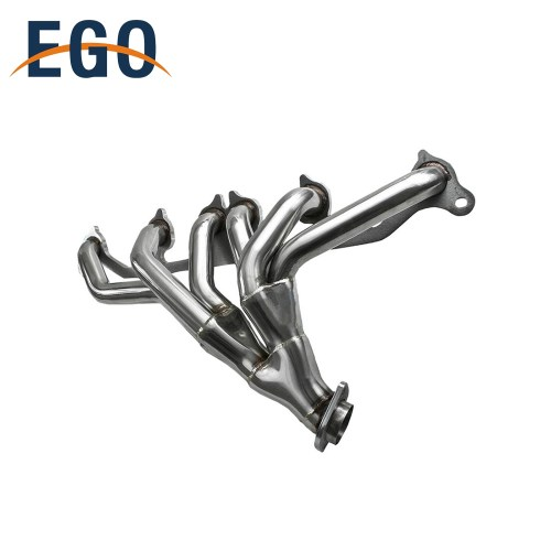 small resolution of stainless steel performance exhaust header manifold for jeep wrangler 91 99 4 0l
