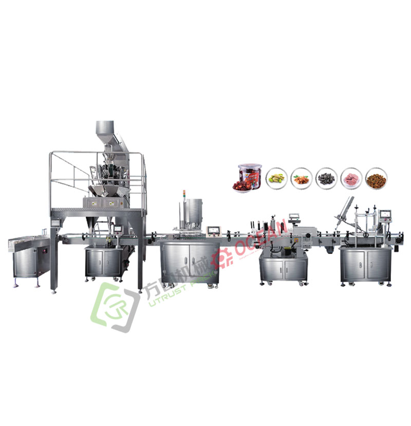 Cashew Nuts Snacks Filling And Sealing Machines Packaging