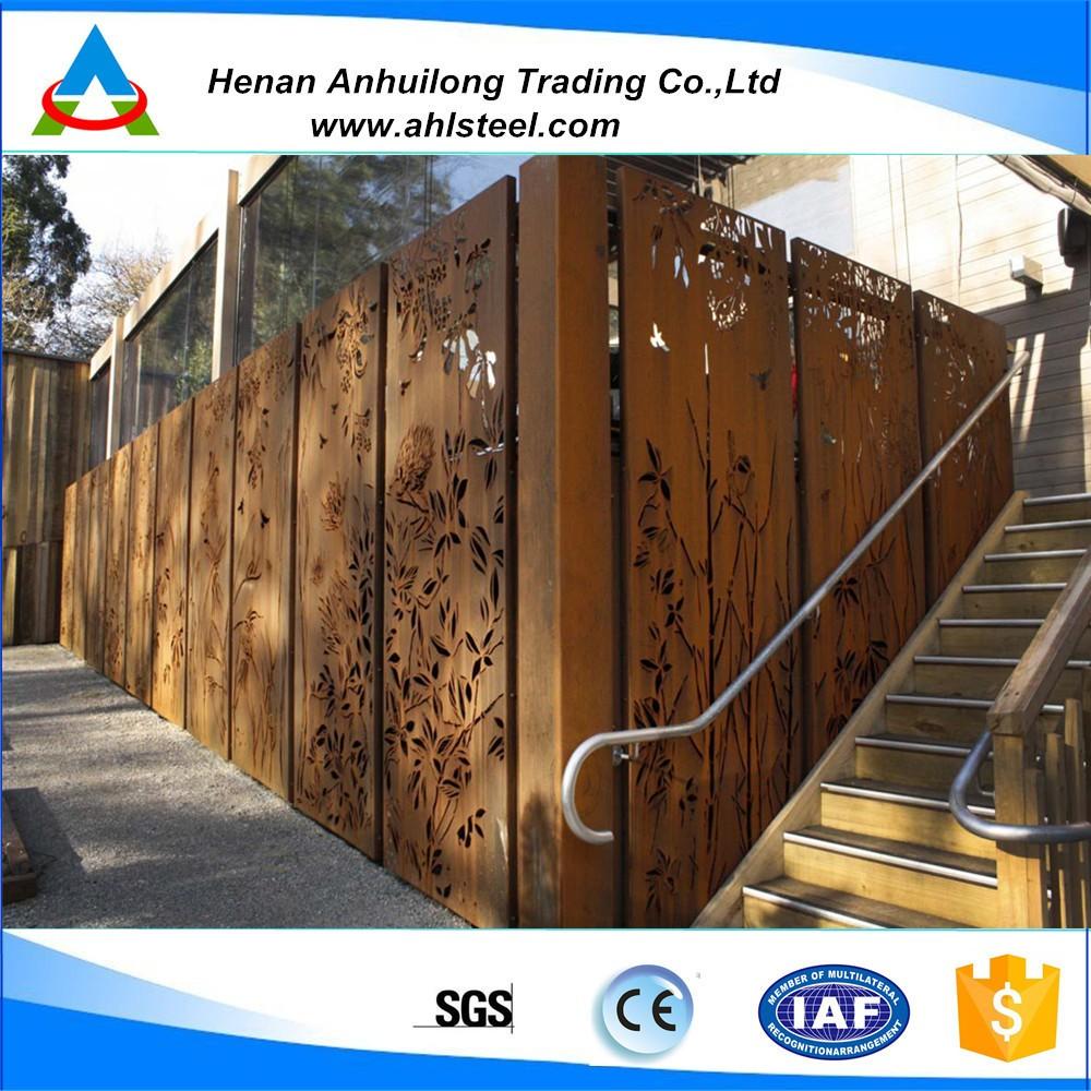 Cortenstahl Fassade Cortenverarbeitung Huhle Stahl Und Metallbau Gmbh