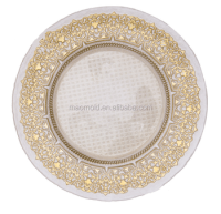 Glass Plate Wholesale Dinner Plates Clear Glass Plate With ...