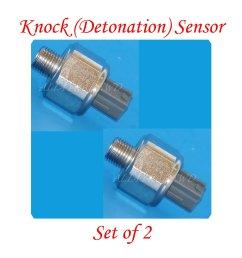 set of 2 89615 12090 knock detonation sensor fits lexus [ 2254 x 2254 Pixel ]
