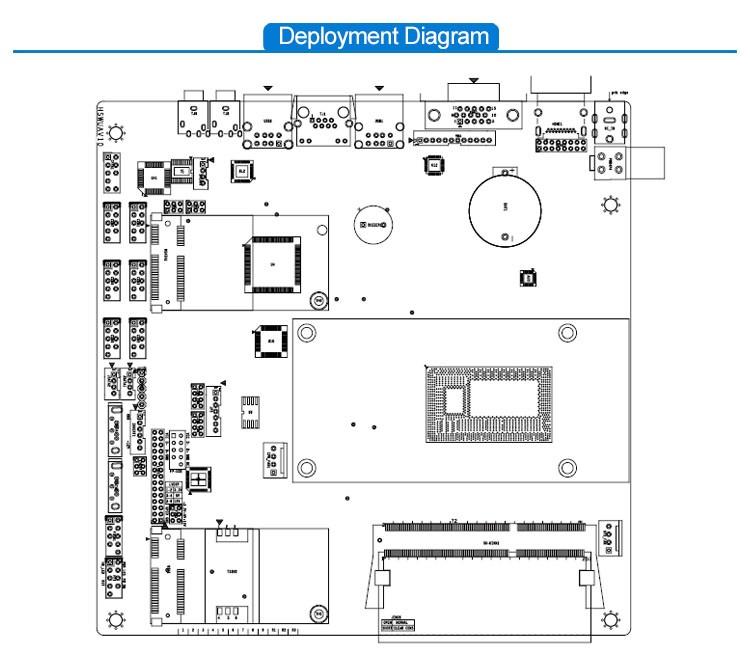 Custom Multi Function Intel I5 4200u Single Lan Mini-itx