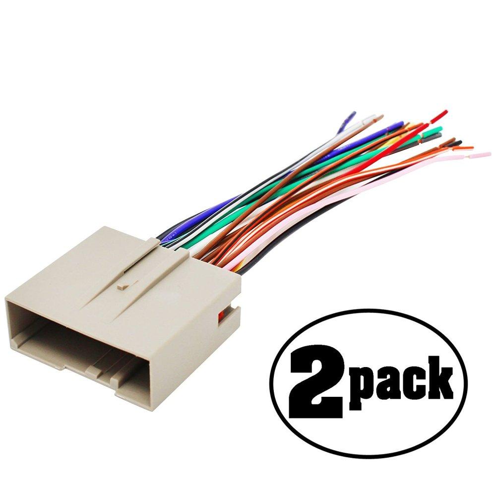 medium resolution of get quotations 2 pack replacement radio wiring harness for 2004 mercury monterey premier mini passenger van 4