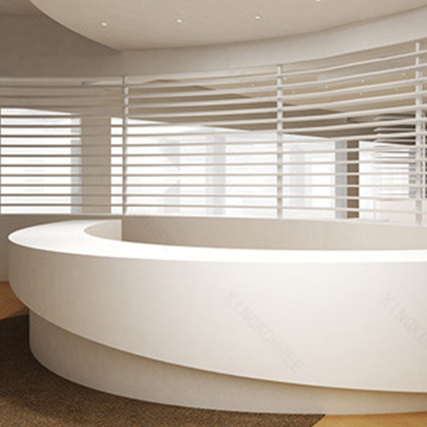 Half Round Reception Desk  Buy Half Round Reception Desk