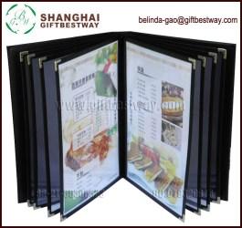Price Competitive Wholesale High Quality Menu Hotel Menu Cover Eco friendly Restaurant Menu Covers Buy Menu Hotel Menu Cover Catalog Cover Design Product on Alibaba com