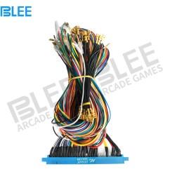 diy arcade jamma wire harness 28 pins blue arcade game machine wiring harness connector  [ 1000 x 1000 Pixel ]