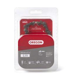 get quotations oregon s39 advancecut 10 inch semi chisel chainsaw chain fits echo poulan mcculloch [ 1500 x 1500 Pixel ]
