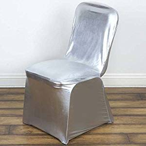 efavormart wedding chair covers adelaide cheap silver spandex find deals on line at alibaba com get quotations 50pcs premium stretchy fitted banquet cover for party event catering