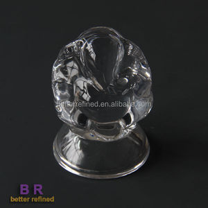 crystal ganesh statue for