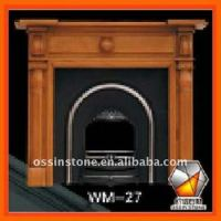 Solid Pine Wood Burning Fireplaces Mantel,Firepalce ...