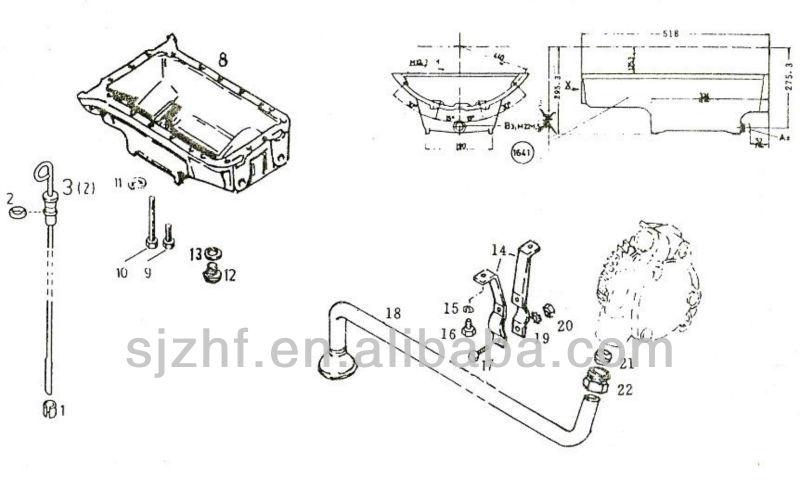 Deutz F6l912 Engine Part Deutz Engine Oil Pan And Gasket