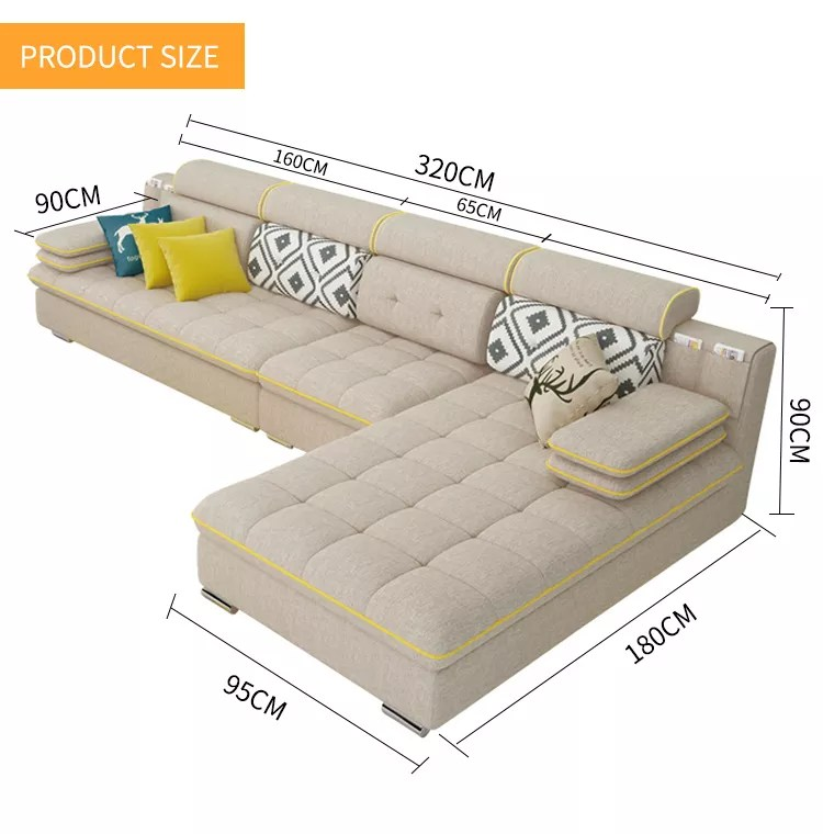 best price living room furniture decoration ideas for shelves in a new designs 2018 top quality fabric l shaped sofa