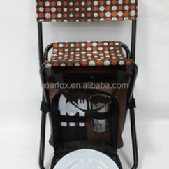 Fishing Cooler Chair Swivel Types Outdoor With Bag And A Set Of Picnic Ware Buy Folding Foldable Insulated Product On Alibaba Com