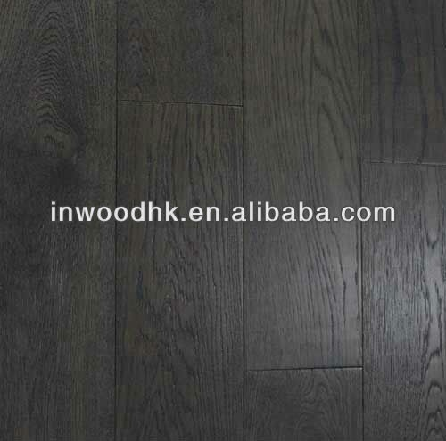 Black Stained White Oak