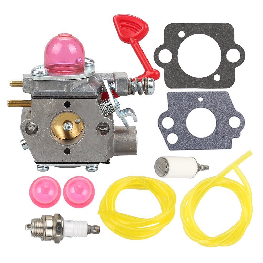 hight resolution of get quotations mckin wt 875 545081855 carburetor with fuel line filter for craftsman poulan pro blower bvm200c
