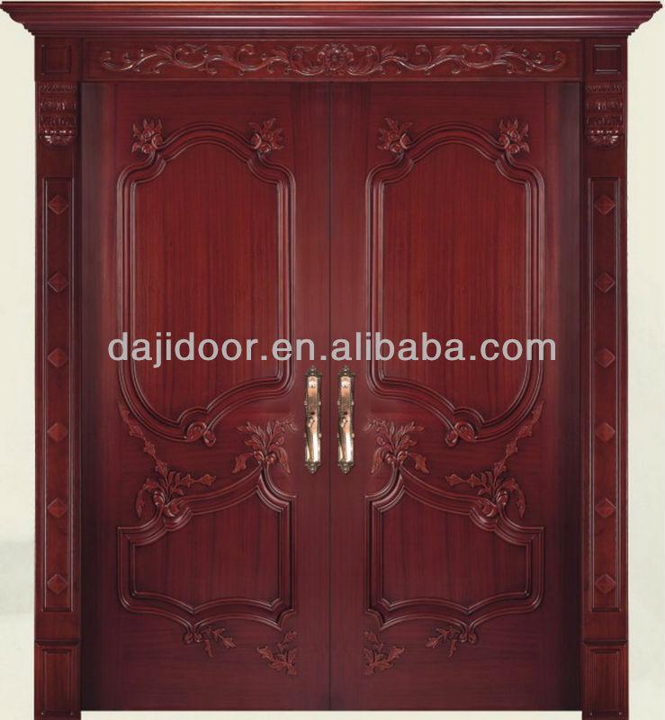 Luxury Carved Wooden Double Door Designs Dj