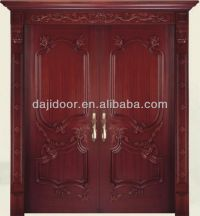 Luxury Carved Wooden Double Door Designs Dj