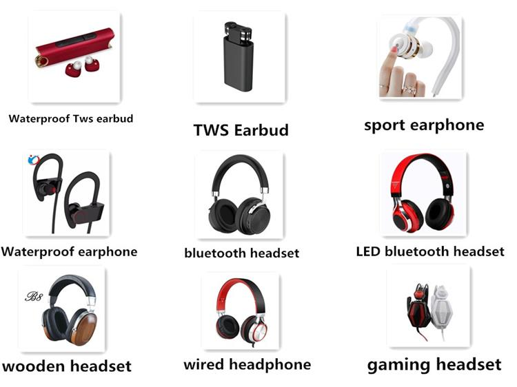 Fashion Wireless Stereo Sport Headset Bulk Wireless
