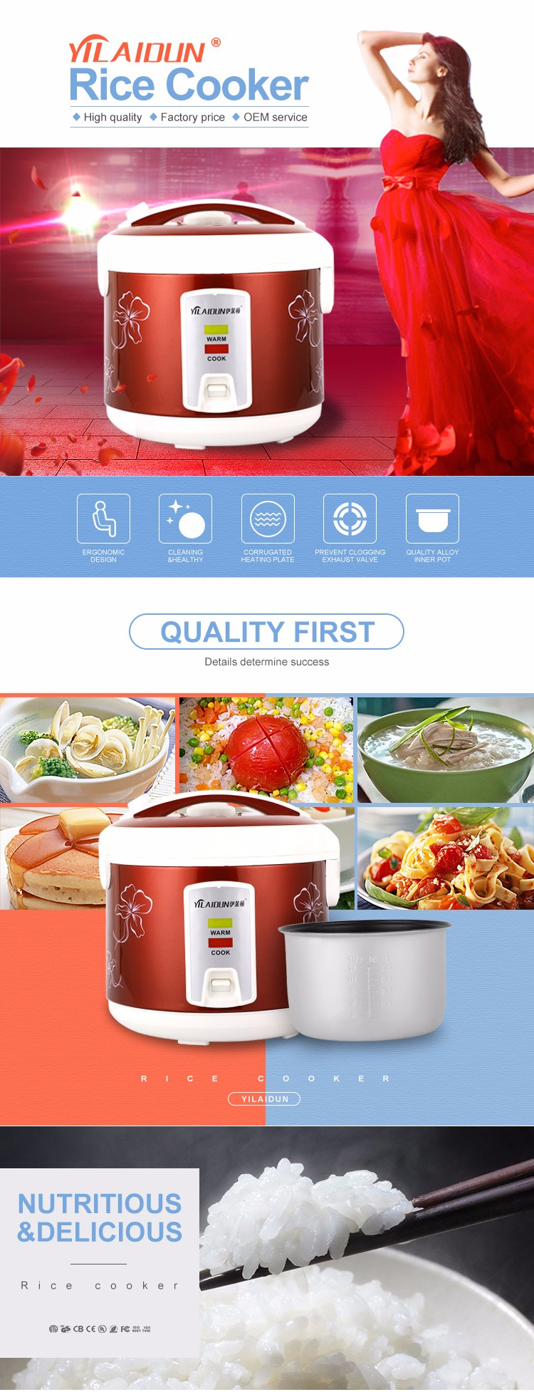 medium resolution of italian kitchen appliances red rice cooker electric diagram