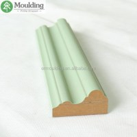 Pvc Wrapped Moulded Mdf Panel For Chair Rail Moulding ...