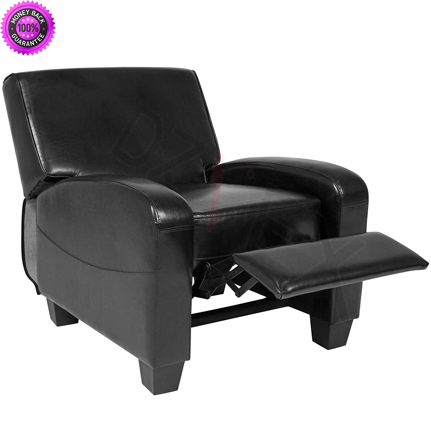 recliner chairs cheap pier one rattan dining find deals on line at alibaba com get quotations dzvex padded upholstery leather home theater chair black and restaurant stacking waiting
