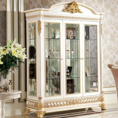 Living Room Glass Display Cabinets Safari Decor Yb62 French Rococo Style Furniture Wine Cabinet With Tv Stand Antique Wooden