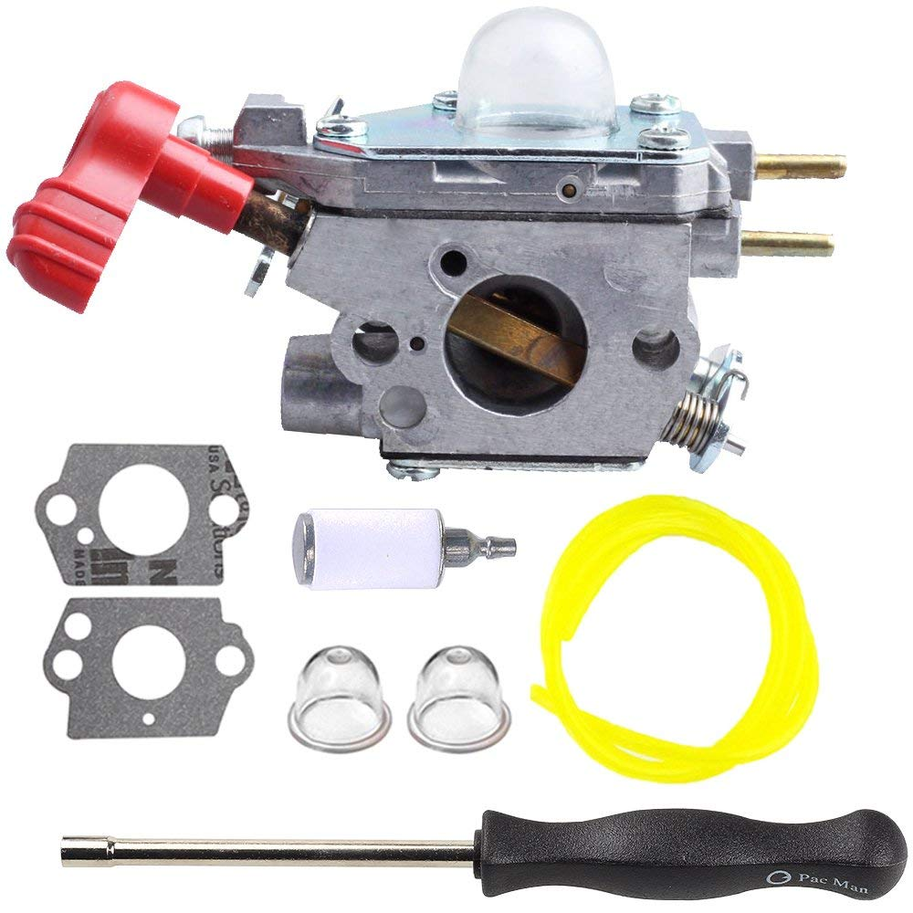 hight resolution of get quotations hilom carburetor with screwdriver for craftsman troybilt tb2044xp ms2550 ms2560 tb2040xp yard machine gas trimmer weed