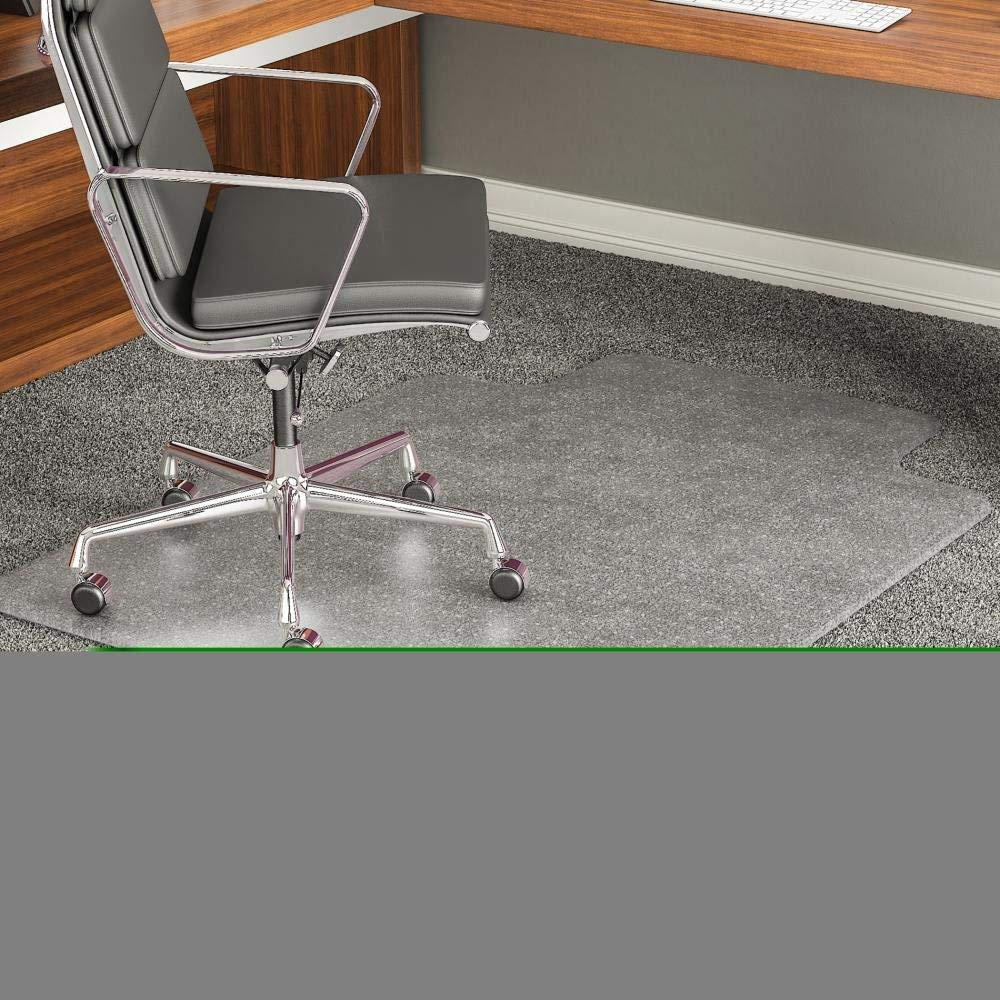small chair mat vinyl strapping cheap find deals on line at alibaba com get quotations cm17233 office reception home carpet floor protector executive beveled edge 45 x 53