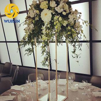Luxury Modern Iron Powder Coated Table Metal Wedding